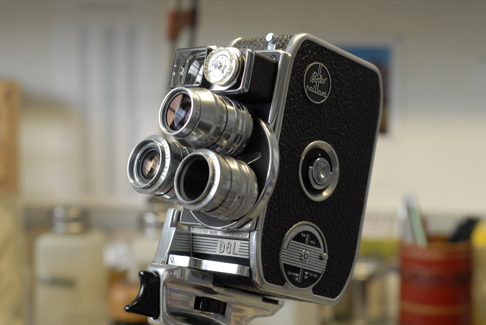 A little history. The legendary Swiss camera maker Bolex ...
