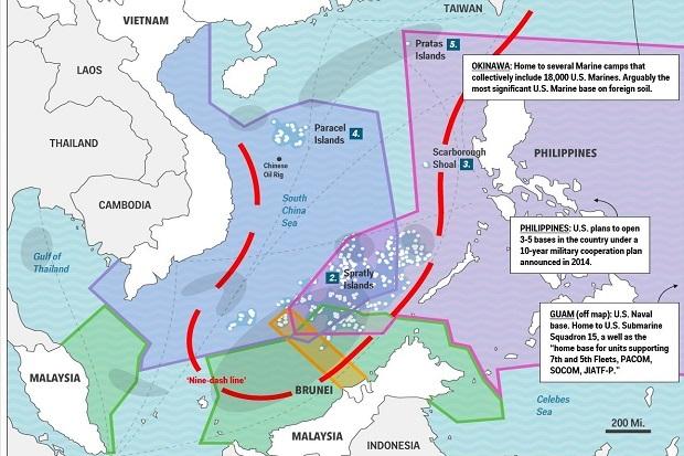 Indonesia Minta Klarifikasi China Terkait Nine Dash Line LCS