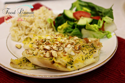 Lemon-Dill Flounder Fillets
