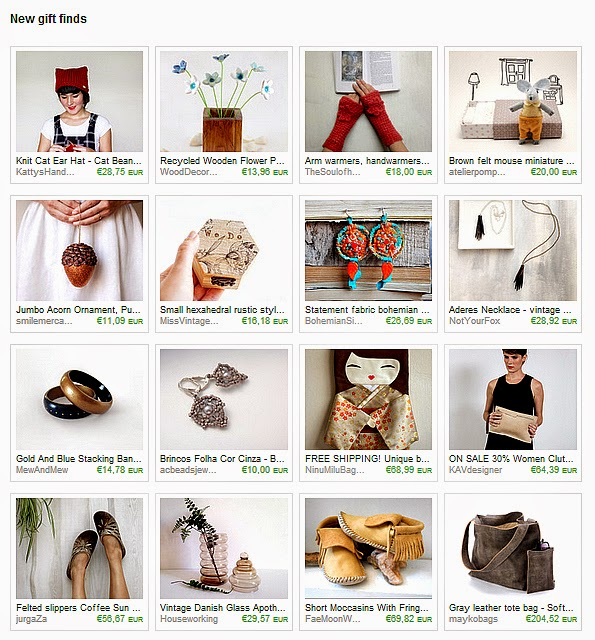 New gift finds Treasury on ETSY