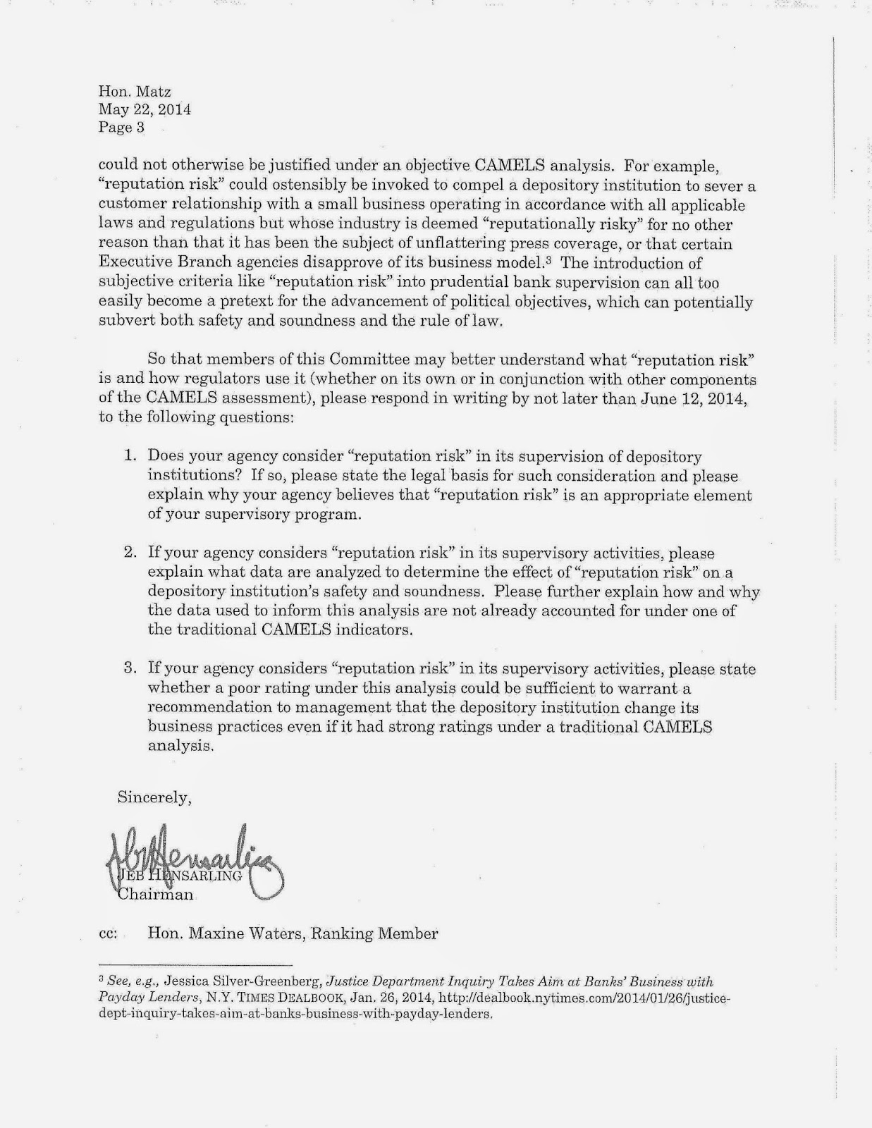 Bank credit manager cover letter