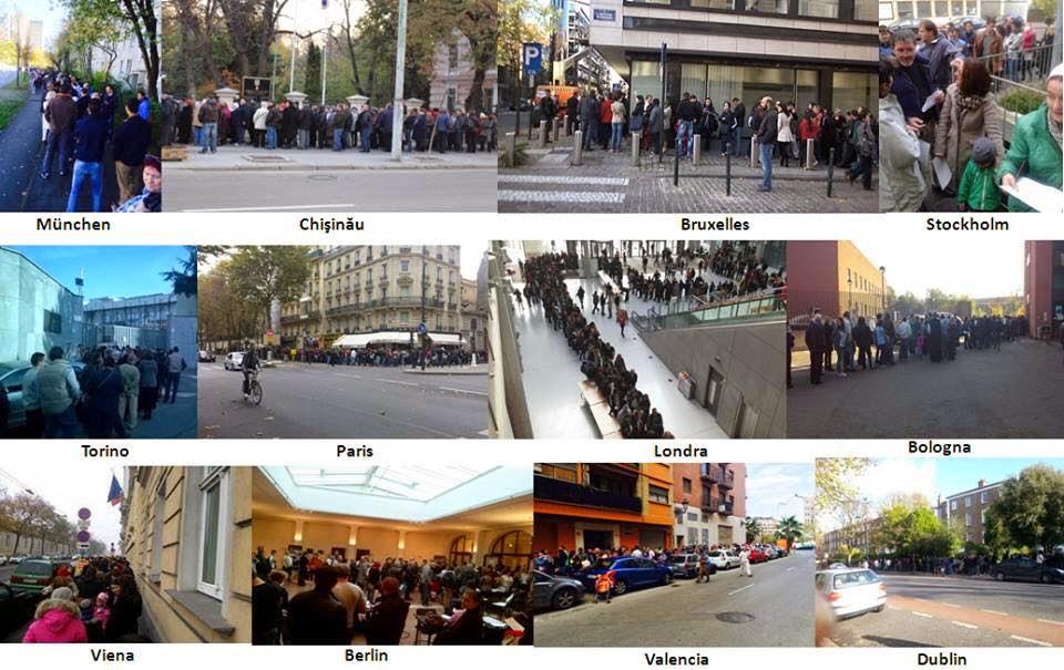 cozi sectii votare europa