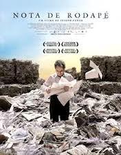 """Poster do filme """"Nota de Rodapé"""""""