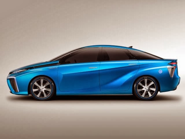 Toyota FCV Concept Cars Future Hydrogen Powered