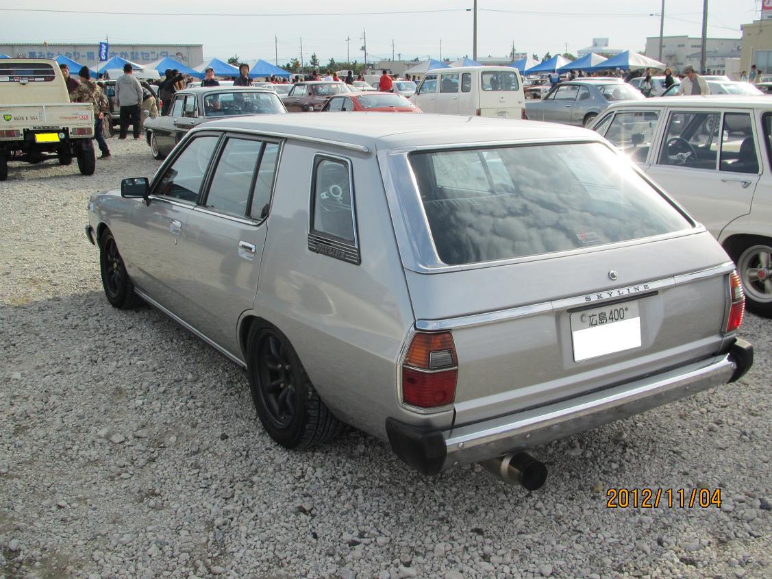 Nissan Skyline C210 Wagon, kombi, rodzinny, japoński samochód, klasyczny, fotki