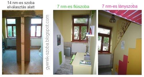 GYEREKSZOBA TERVEZŐ, LAKBERENDEZŐ - Gere Krisztina - Dekorációs falfestő: Közös gyerekszoba ...