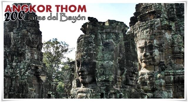 Templos-Angkor-Caras-Bayón