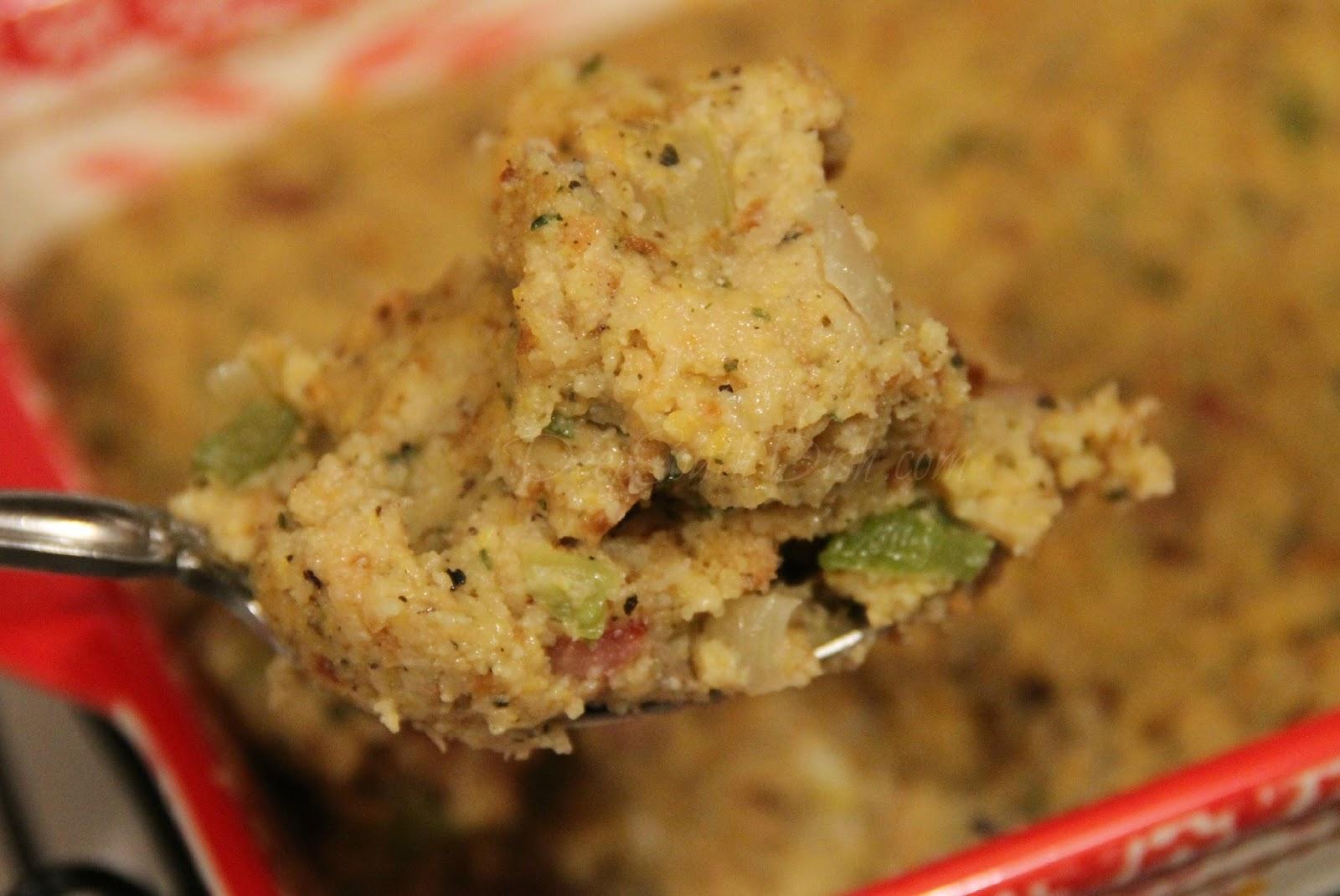 Deep South Dish: Cornbread Sage Dressing with Gravy