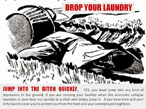 Obama Drop Your Laundry and Hide