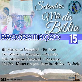 PROGRAMAÇÃO DIÁRIA DA PARÓQUIA N. SRA DA PIEDADE