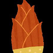 たけのこのイラスト(野菜)