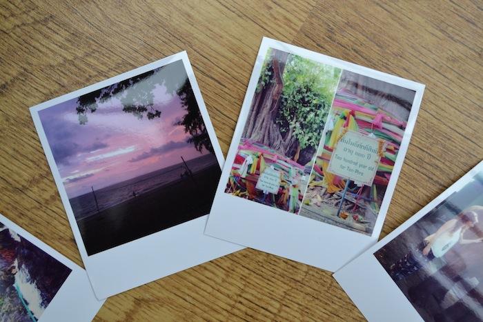 Instagram polaroid photos