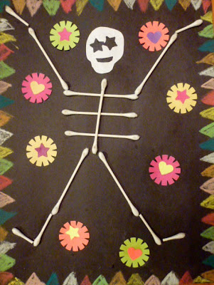 Choices for children storytime with cfc in october for Day of the dead crafts for preschoolers