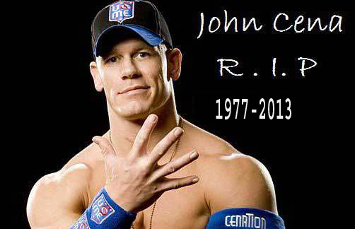 Wwe New News John Cena Dead April 2013