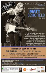 Enter to Win Tix to See British Blues Hall of Famer Matt Schofield in Ancaster