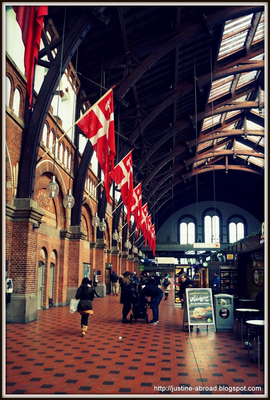 train station, Copenhagen, denmark