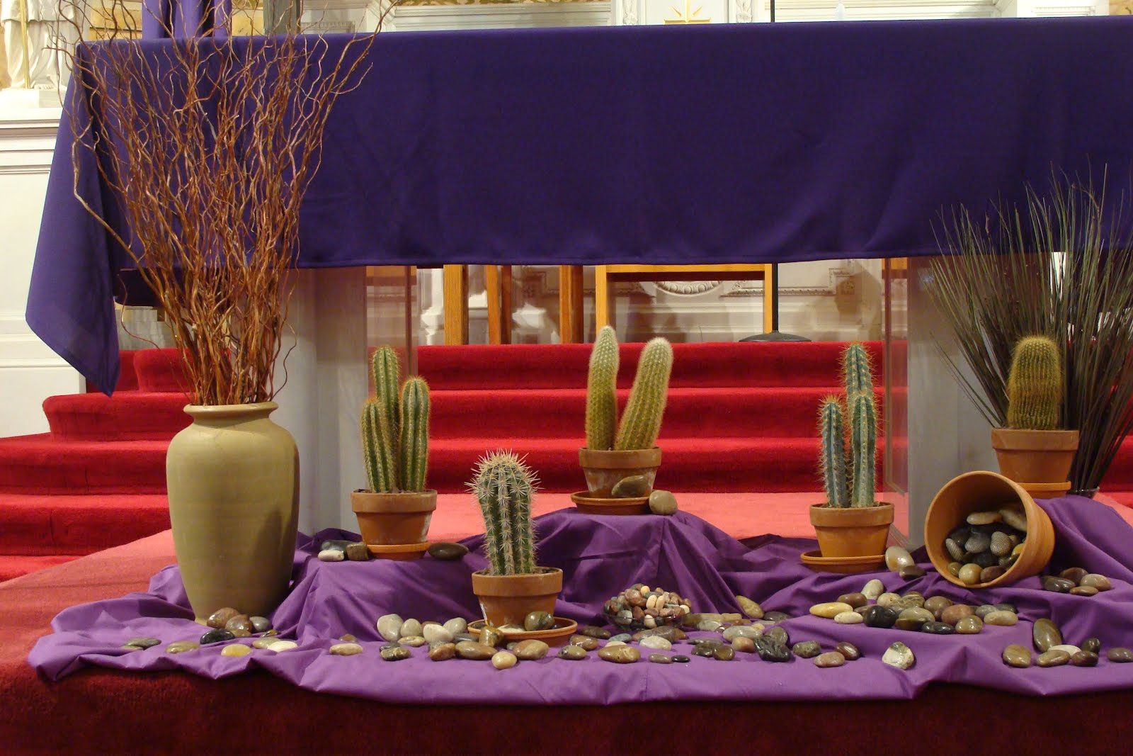 From the eastern front march 2012 for Lent decorations for home