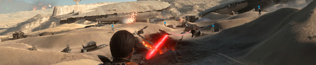 Star Wars Battlefront Battle of Jakku Banner