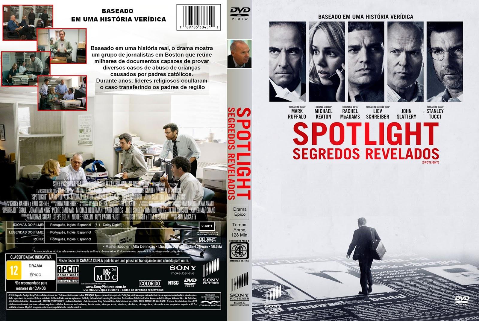 Spotlight Segredos Revelados BDRip XviD Dual Áudio Spotlight 2B  2BSegredos 2BRevelados