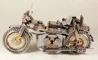 Relojes Reciclados, Motos, Autos, Quads u Otros Vehículos