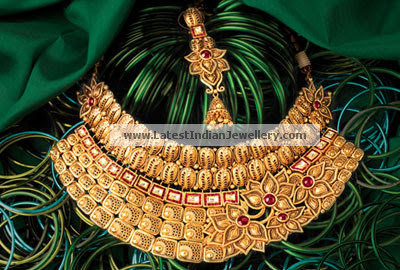 Gorgeous Gold Bridal Jewellery