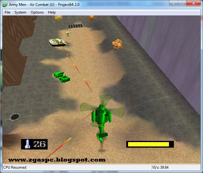 Download Army Men Air Combat Nitendo 64 For PC