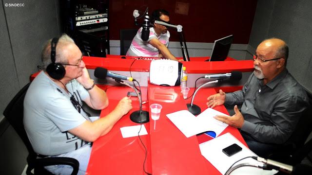 LOGO MAIS, ÀS 11H, O PRESIDENTE DO SINDECC MILTON MANOEL CONCEDERÁ ENTREVISTA À RÁDIO NOVA FM CARUARU.