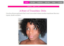 "Featured on ""The Good Hair Blog"""