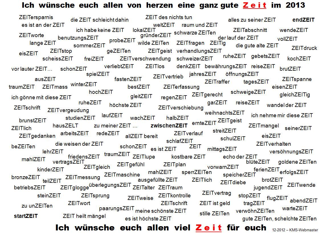 KULTur-Musik-Kunst-Sounds Blog: EIN GUTES NEUES JAHR ! 2013