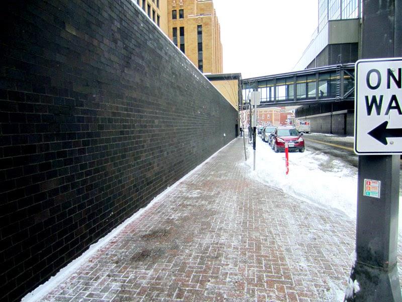 Twin city sidewalks blank walls of saint paul 1 for Four blank walls