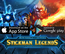 Action Game of the Month - Stickman legends