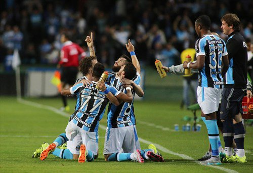 Tricolor Gaúcho foi dominado na maior parte do tempo, mas conseguiu importante vitória em Curitiba (Foto: Divulgação/Grêmio)