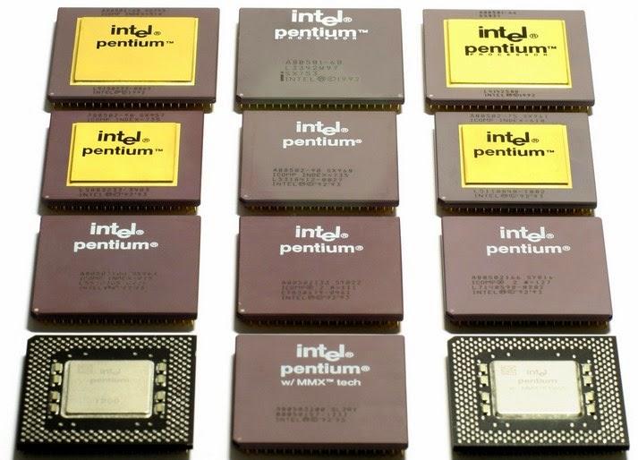 Urutan Generasi Processor Intel