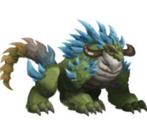 imagen del dragonian beast de monsterlegends