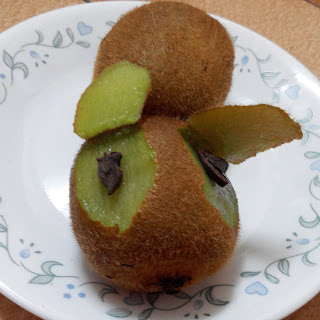Kiwi fruit art