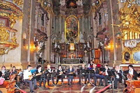 Mandolinenkonzert Peterskirche Wien