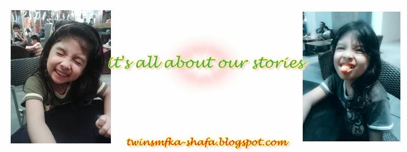 my stories, my twins