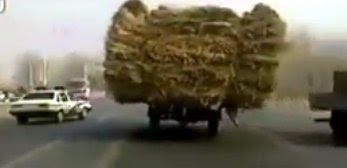 中国でのカーチェイス