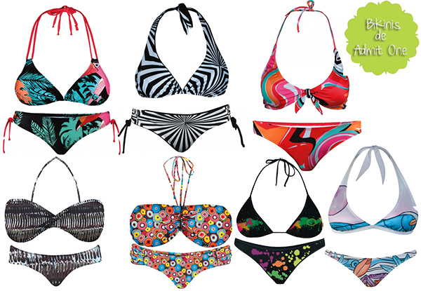 ADMIT ONE Bikinis verano 2013