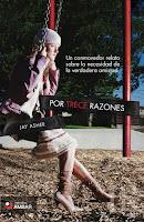 """Portada del libro """"Por trece razones"""", de Jay Asher"""