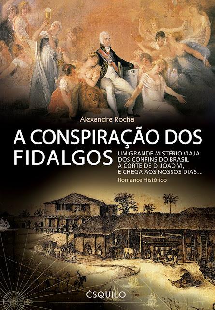 Capa do livro «A Conspiração dos Fidalgos»