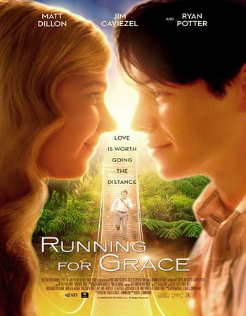 Poster Of Hollywood Film Watch Online Running for Grace 2018 Full Movie Download Free Watch Online 300MB