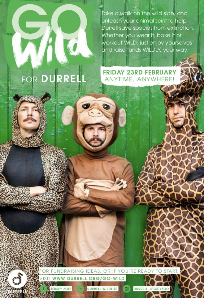 Go WILD for Durrell!