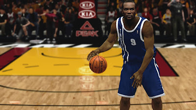 NBA 2K13 Serge Ibaka Cyberface Patch