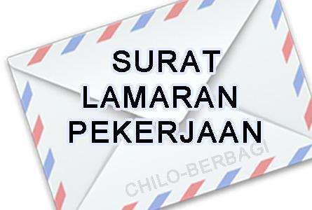 Surat lamaran kerja yang baik dan benar dalam bahasa indonesia
