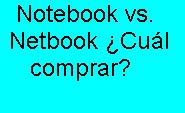 Notebook, Netbook, Comprar