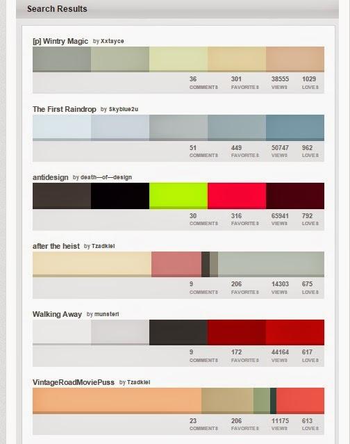 Elección colores colours lovers