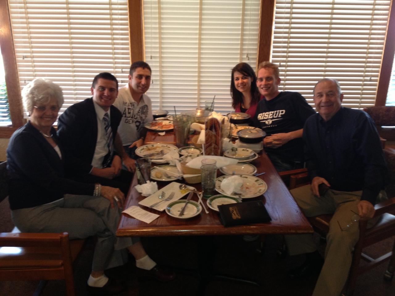 Elder Jonathan Lightheart: November 2012