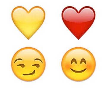 Heart boat emoji