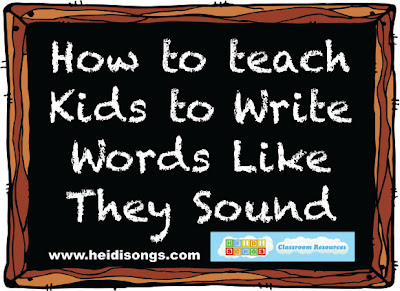 how to teach children to write